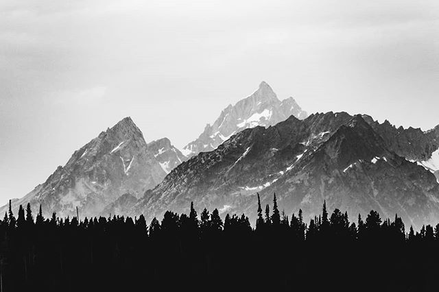 Grand Teton National Park on our road trip last summer #mountains #wyoming #landscape #grandtetons #hiking #camping #backpacking