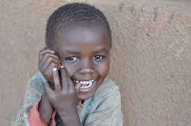 smiling African child