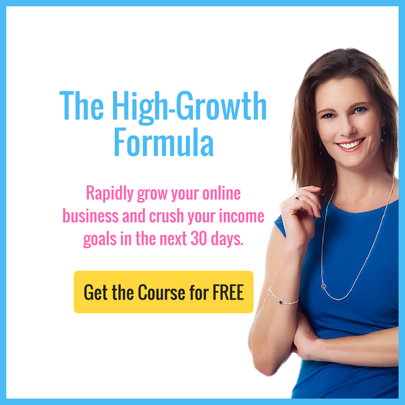 In the High-Growth Formula mini-course, you'll learn the crucial pieces you MUST have in place in order to get booked solid, rapidly grow your online business and crush your income goals in the next 30 days.  https://christineparma.lpages.co/leadbox/1456b9273f72a2%3A165bd1e58346dc/5732910535540736/