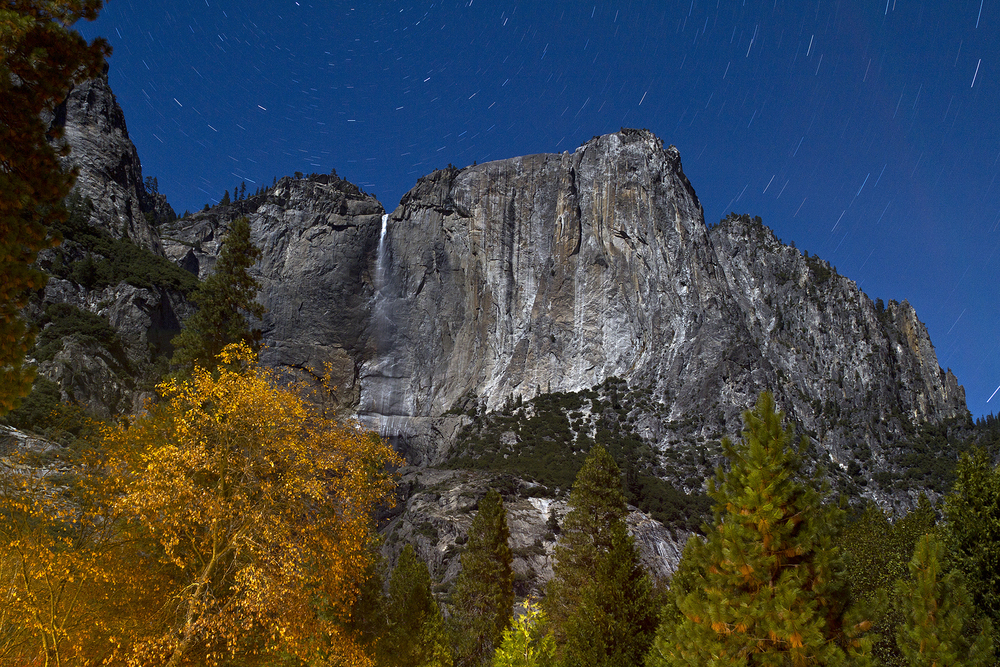 Yosemite Falls at Night, 10 Minute Exposure (2012)