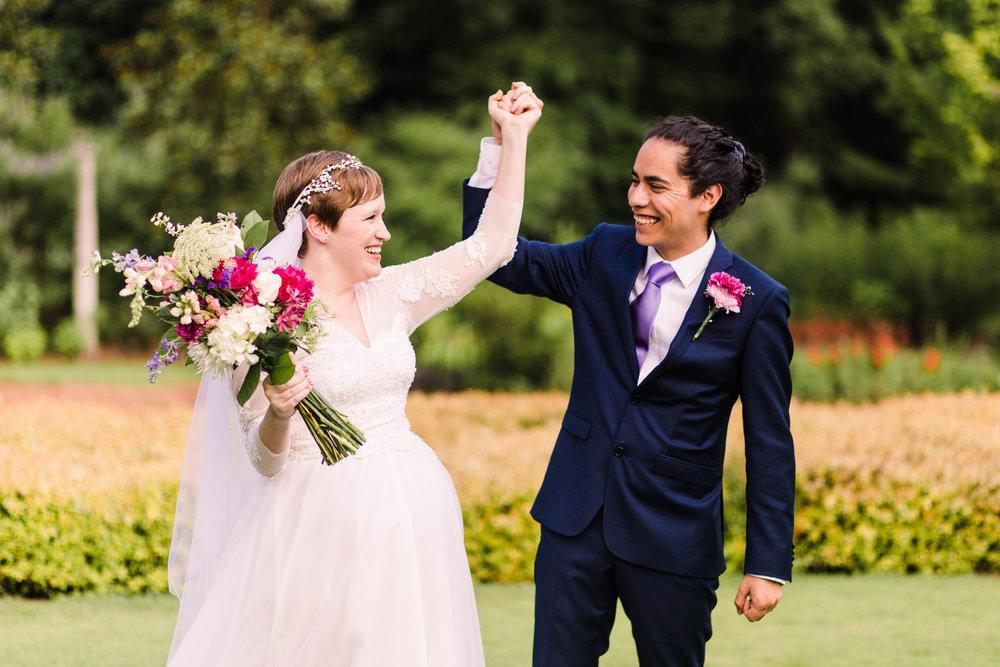 Athens Botanical Gardens Wedding
