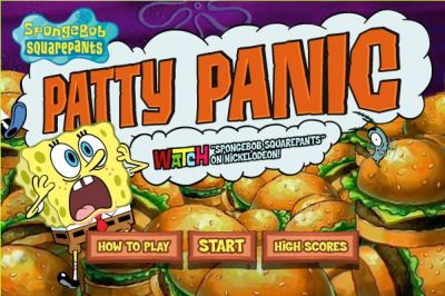 Spongebob SquarePants: Patty Panic