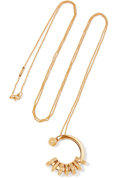 Freja Gold-tone Necklace -  £310, Chloe