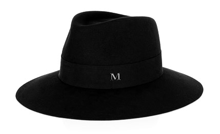 Maison Michel hat, £414, Matches Fashion