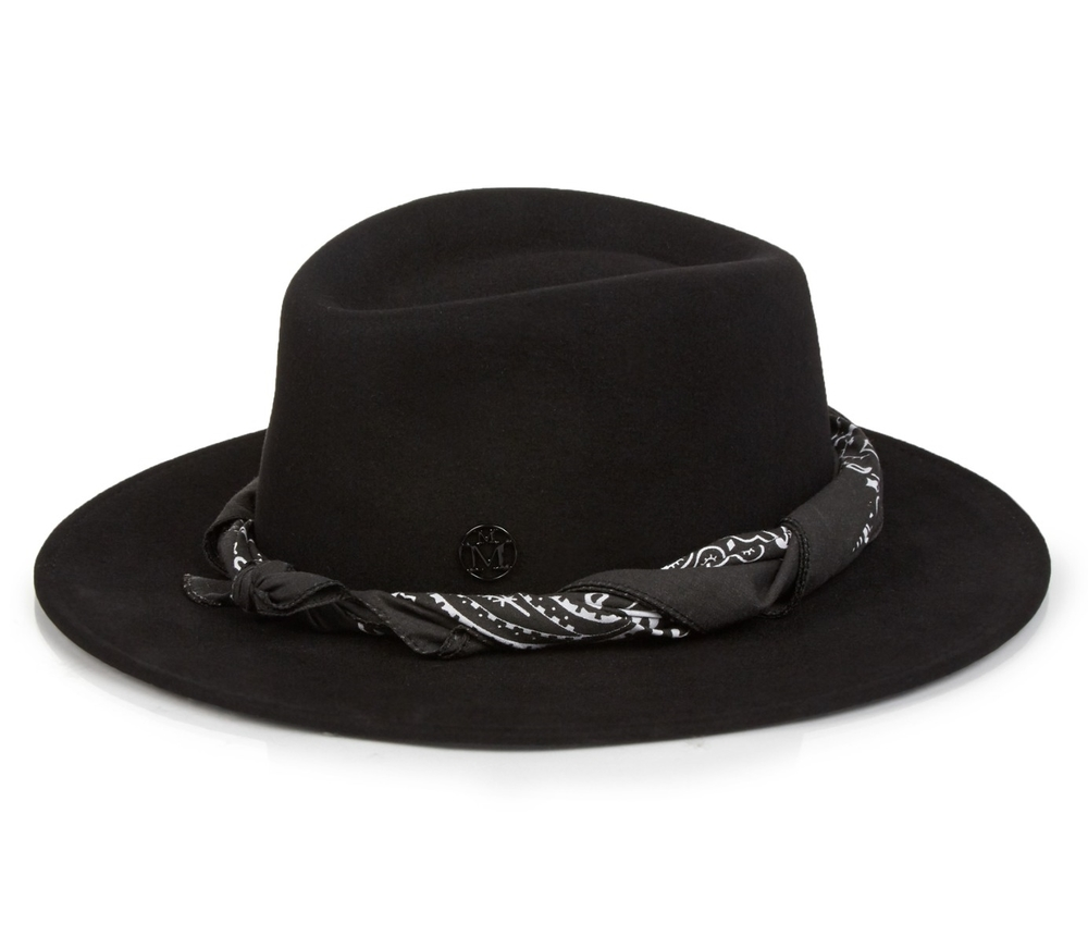 Andre hat, Maison Michel, £414, Matches Fashion