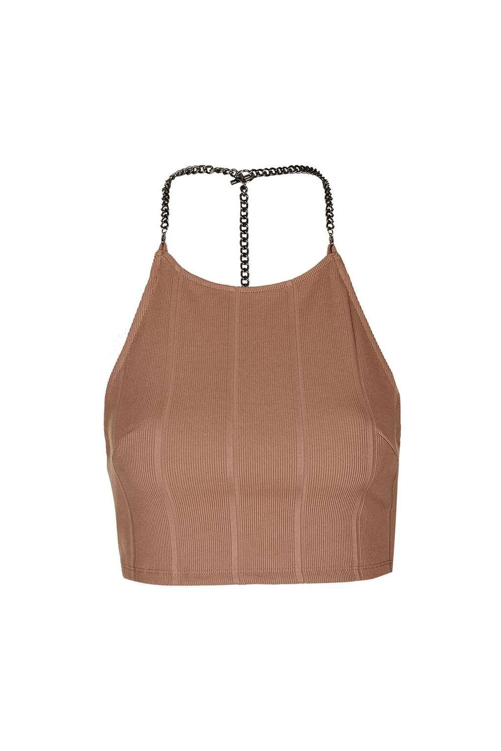 Chain Bandage Crop Top £24.00, Top Shop