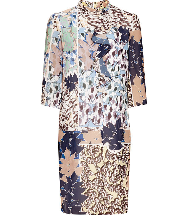 The Printed Shift Dress