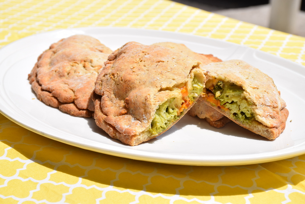 Vegan Broccoli & 'Cheese' Calzone