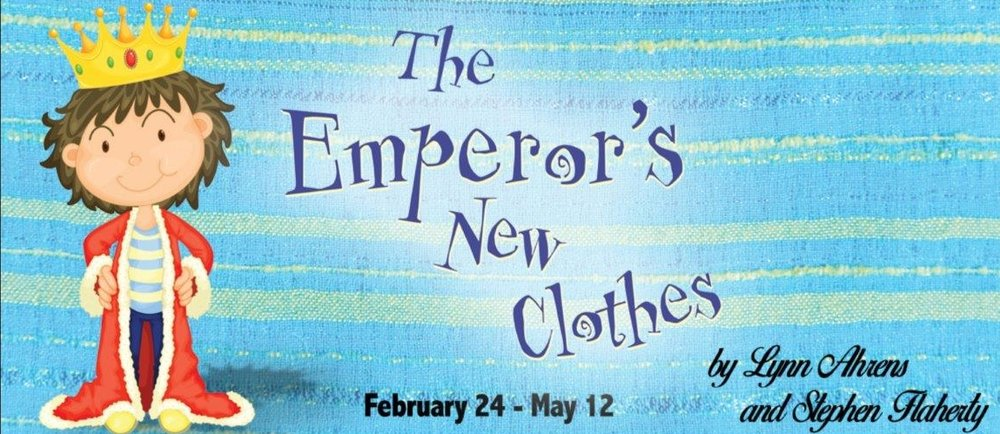 Marriott Theatre Feb 24 - May 12 2018  - Jenna covered DEENA in The Emperor's New Clothes Feb 24th thru May 12th at The Marriott Theatre in Lincolnshire.