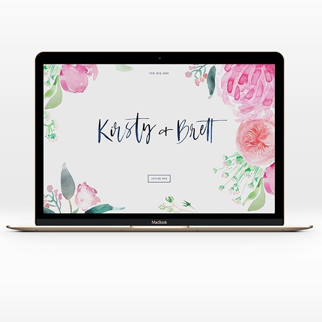Wedding website for a beautiful couple bound to say their big I do's at @theearthhouse in Byron Bay. Collaboration on design with the talented @cassdellerdesign. Big smiles piecing this one together ✨#byronbayweddings #weddingwebsite #moderninvitation