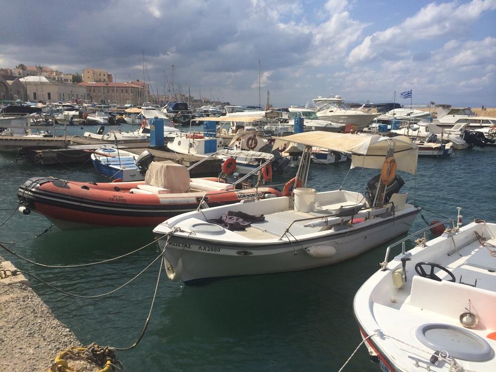 Chania port boats.jpg