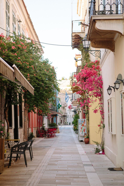 Streets of Nafplio