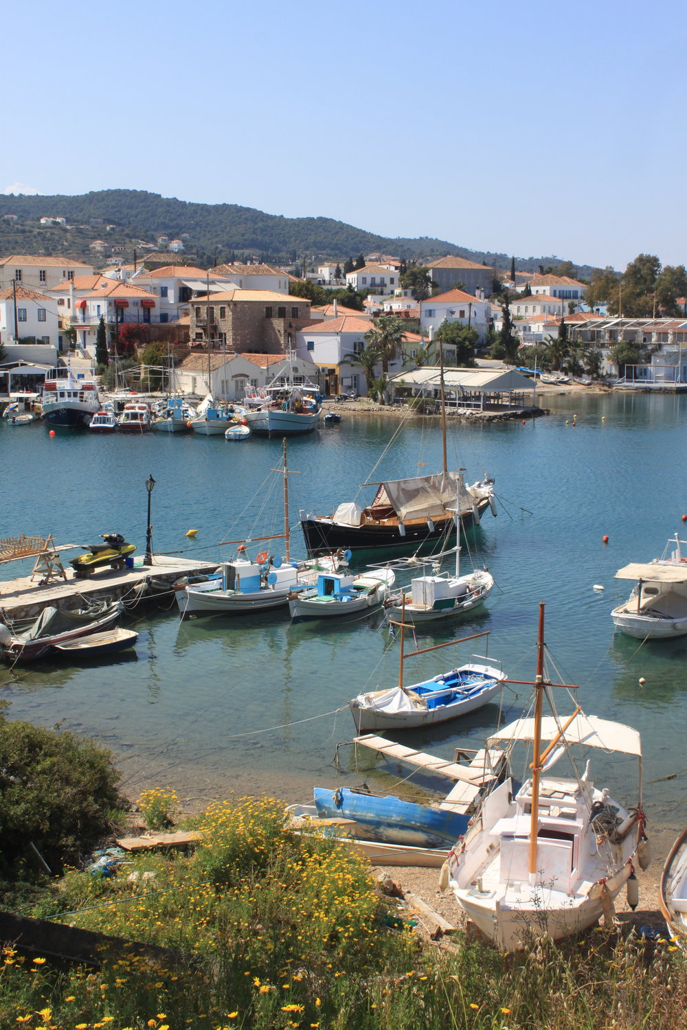 Old Port of Spetses Island