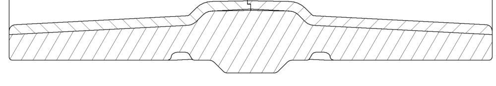 sport wagon beach wheel cross section