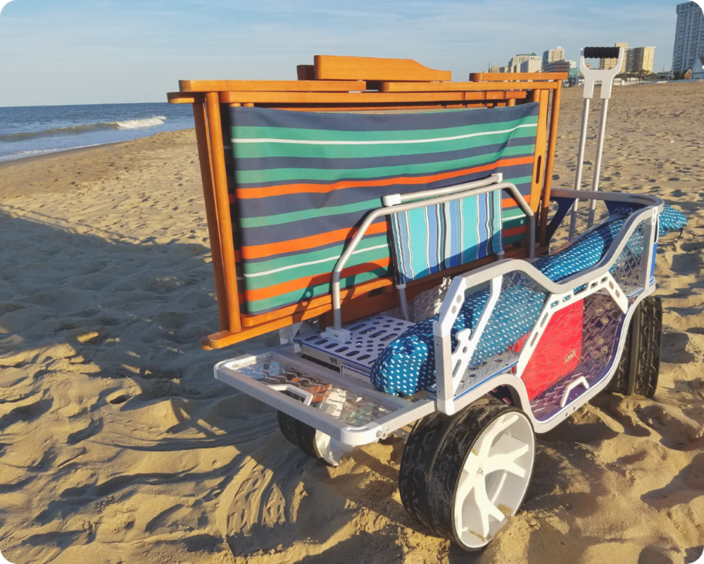 Sport Wagon - beach cart with divider and tailgate extended.jpg