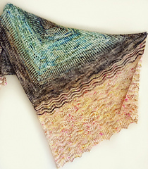 The Candlewick Wrap by Mara Catherine Bryner is the perfect 3 skein project for Wren and Ollie Sock yarn. Just pick your top 3 colors and go!   Download from Ravelry Here...