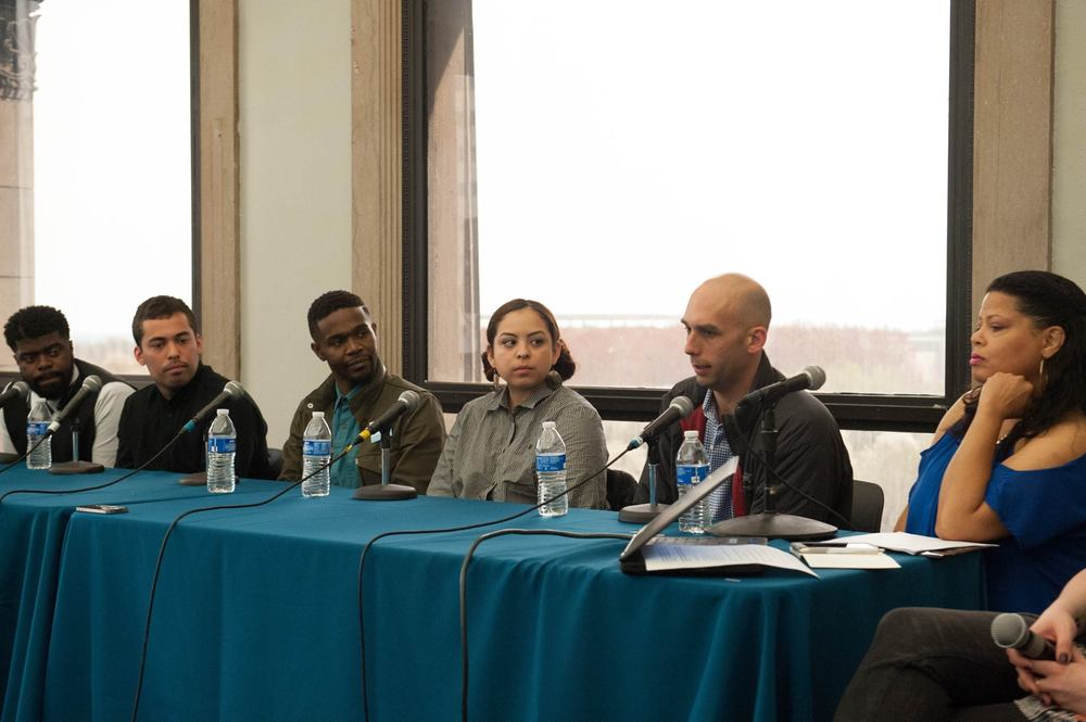 """Gaining Access: How to Engage Young Talent in the Music and Film Industries"" Panel (Photo by Walter Mitchell)"