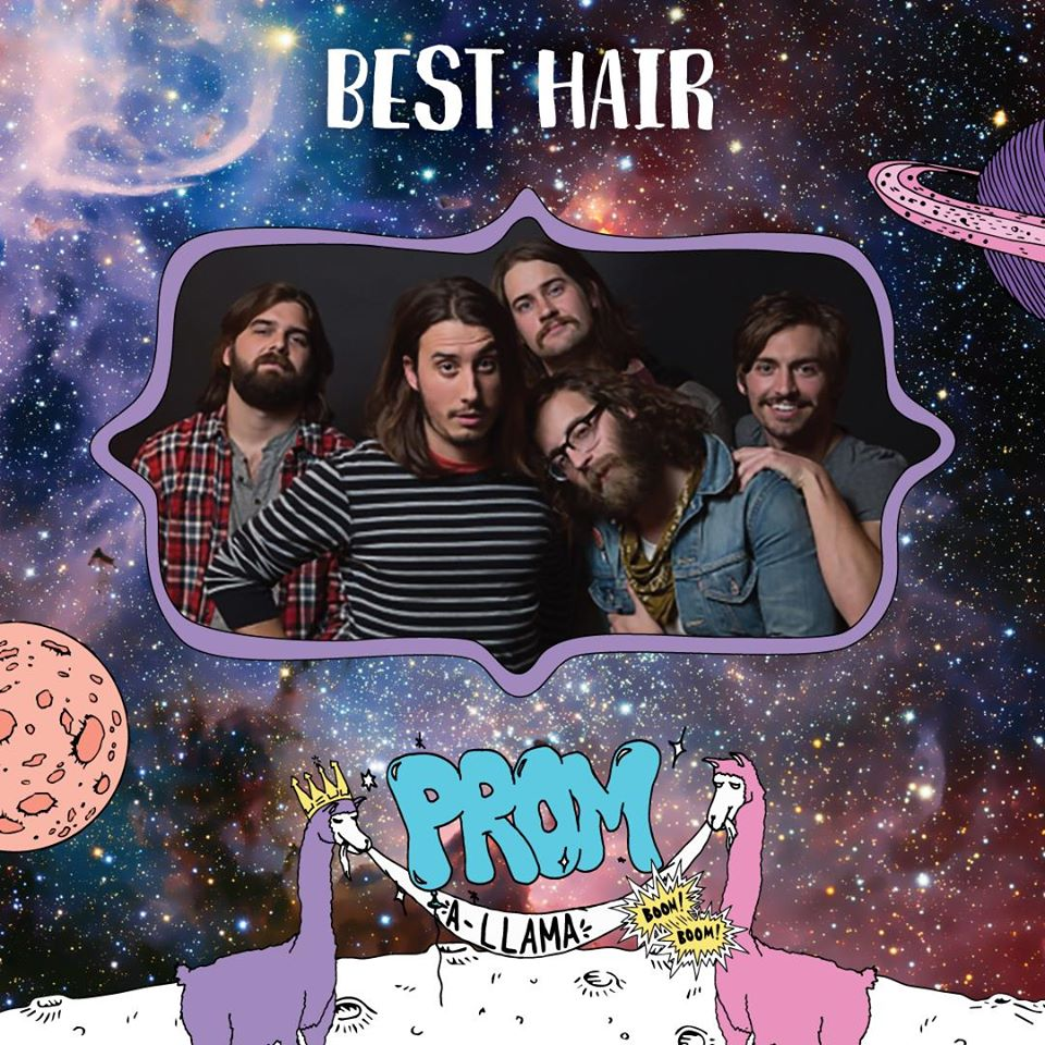 Prom-A-Llama Superlatives • Best Hair: Archie Powell & The Exports