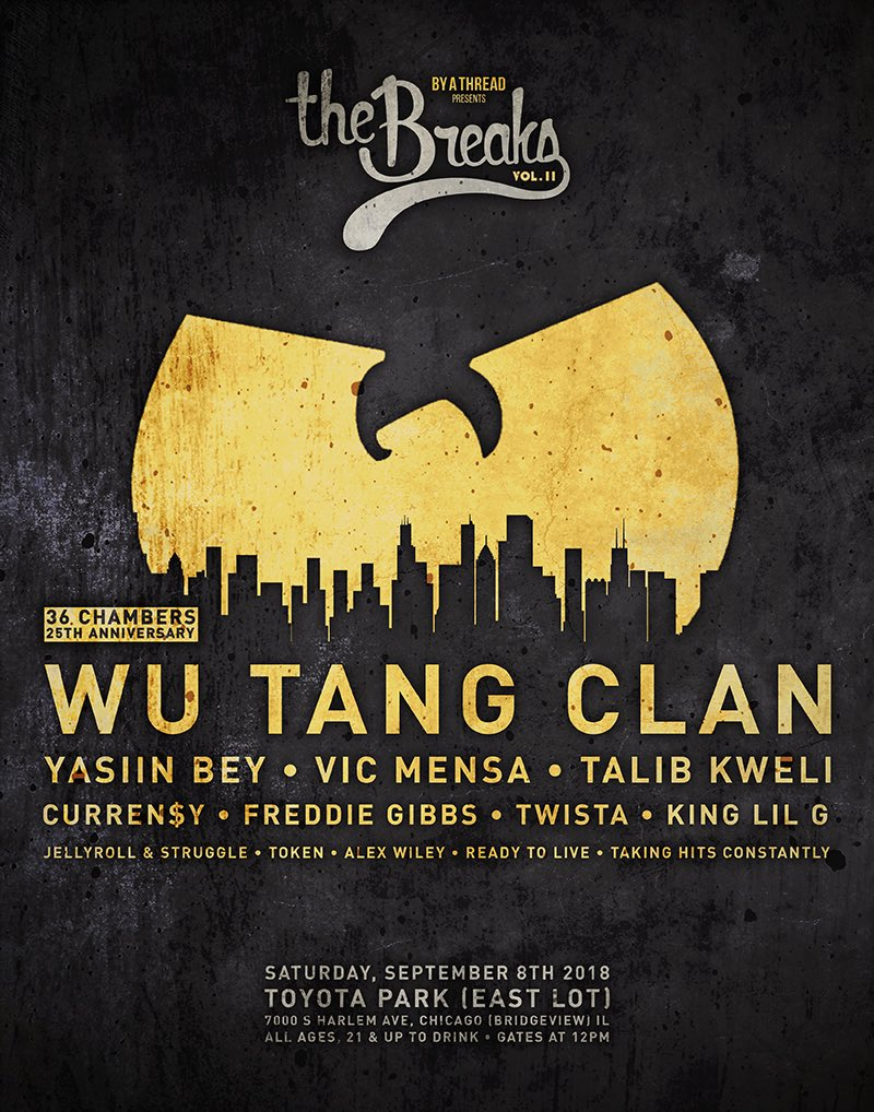 September 8 The Breaks Vol Ii Ft Wu Tang Clan These Days