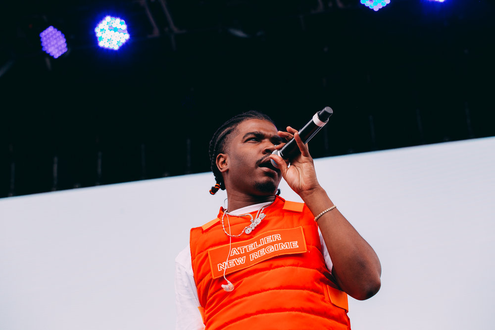 Smino at Pitchfork Music Festival 2018 (Photo by Michael Salisbury)