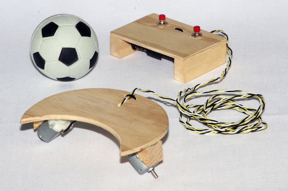soccerbot basic soccer playing model