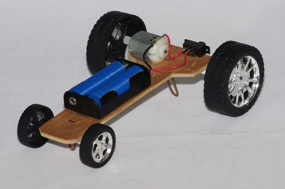 Simple motorised vehicle