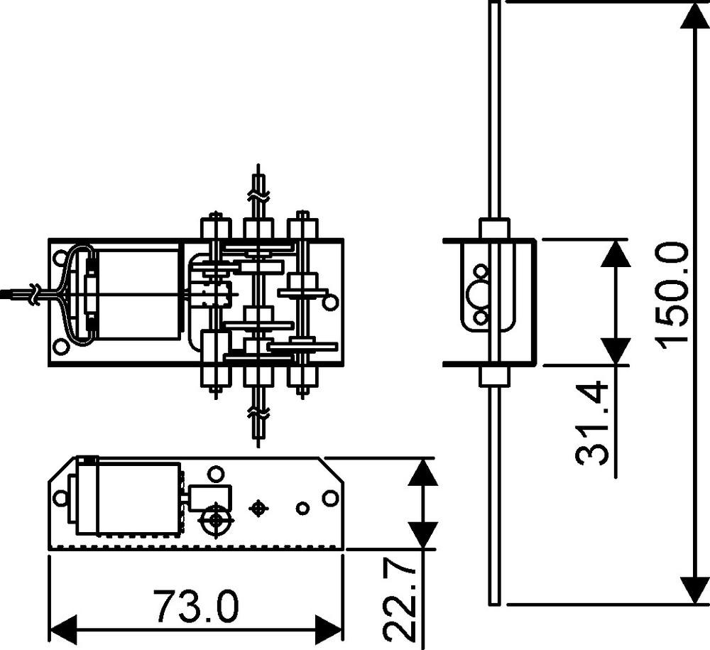 4 ratio gearbox