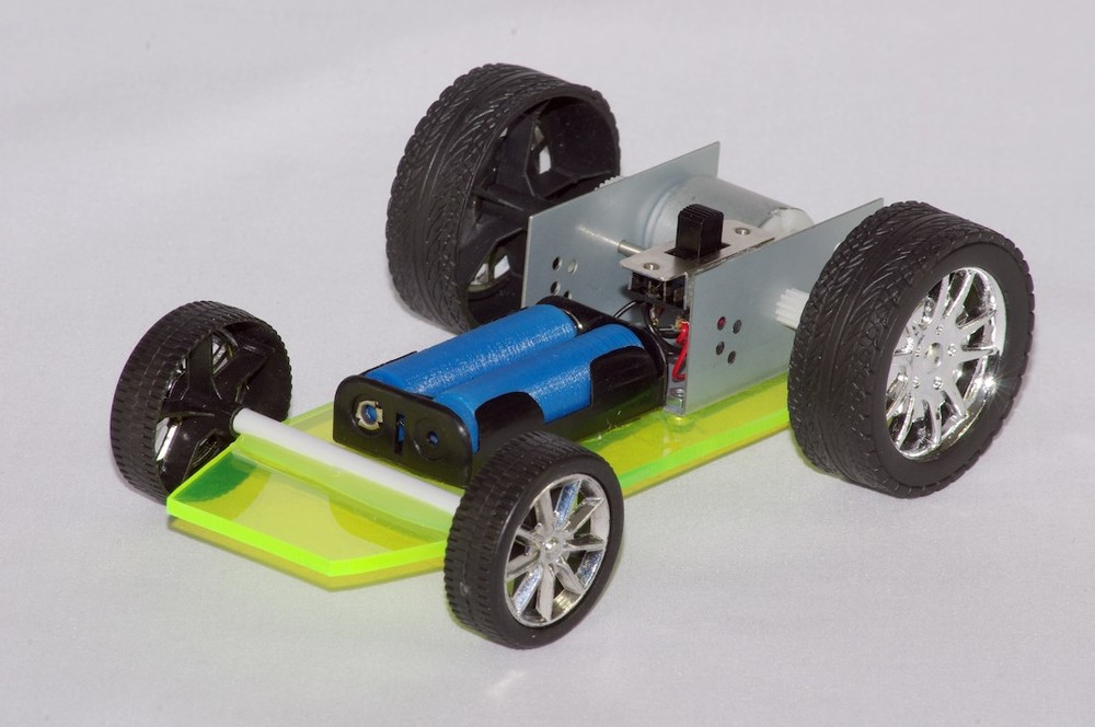 Basic four wheel model