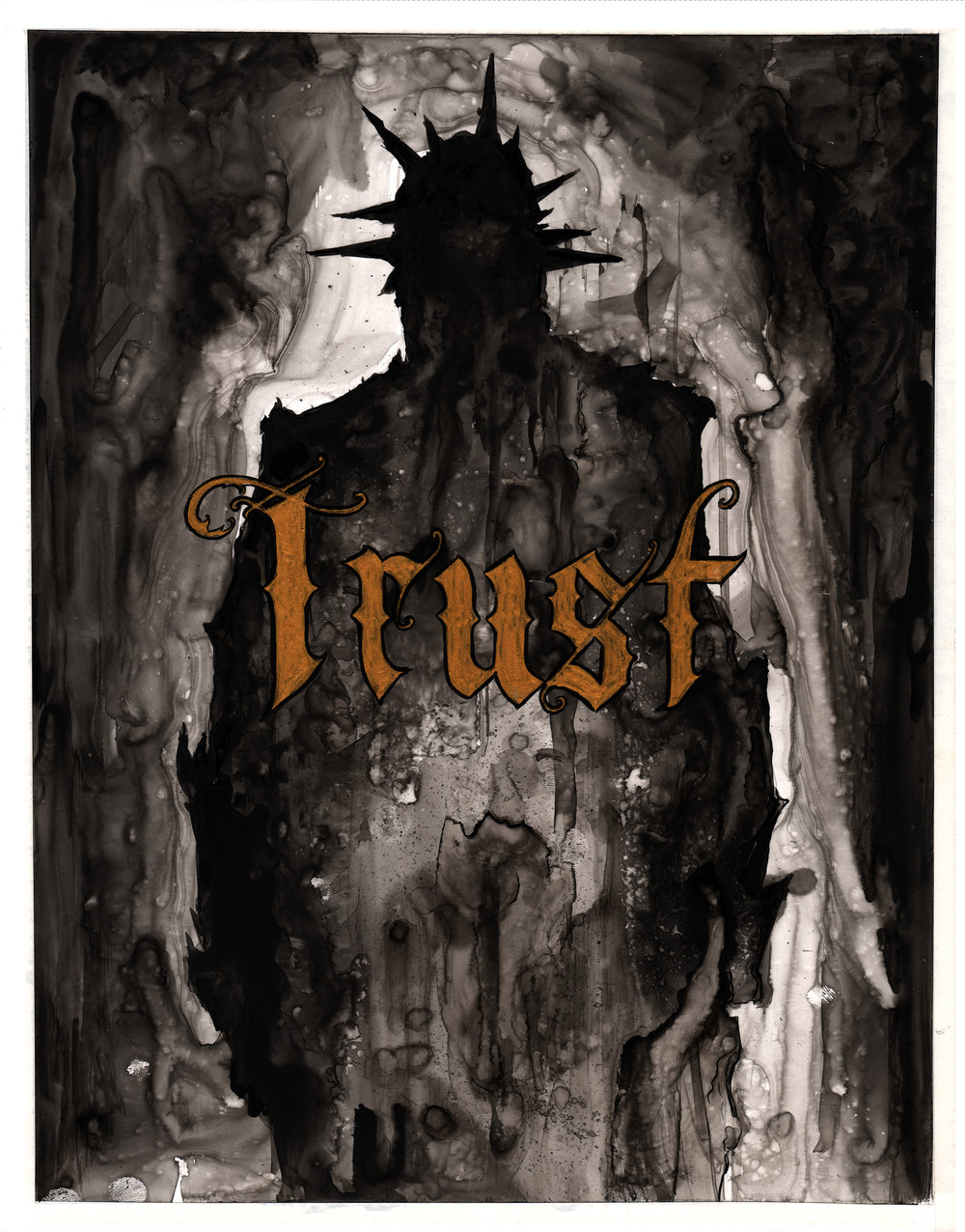 Inktober 6 Trust.jpg