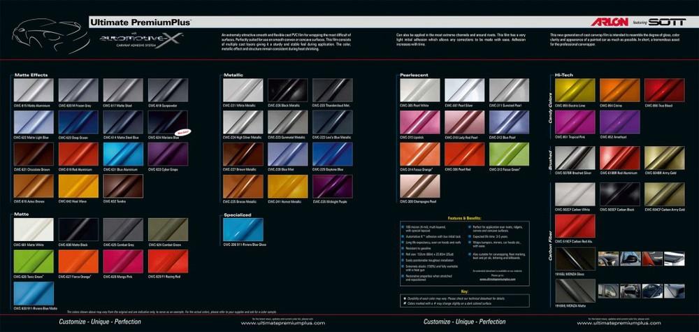Colores Arlon