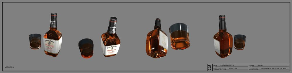 3D111_LuisaManrique_StillLife_WhiskeyBottleAndGlass.jpg