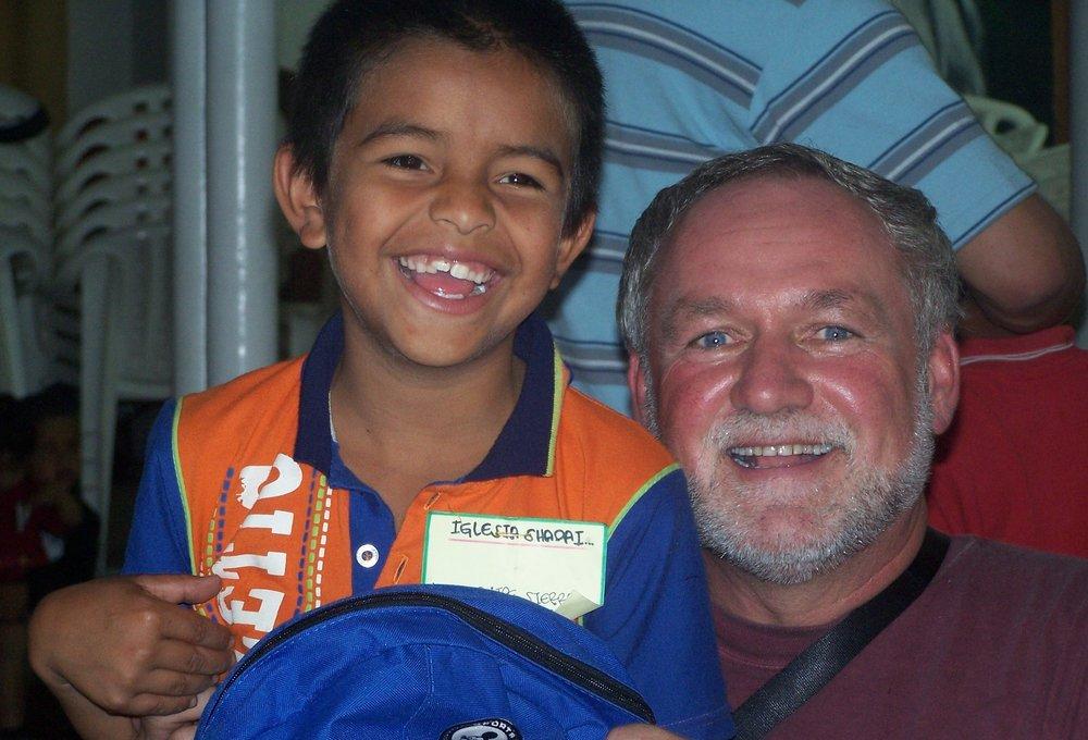 Juan Felipe and Darrel, December 2006