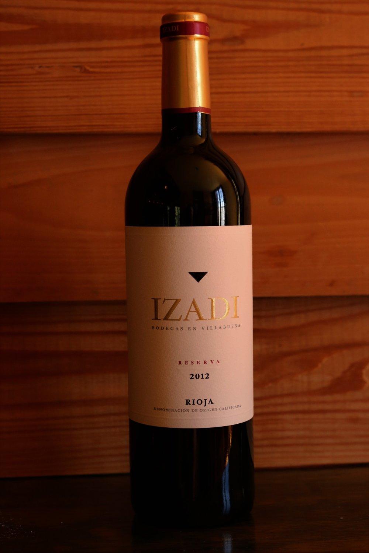 Izadi Rioja Reserve 2012 -