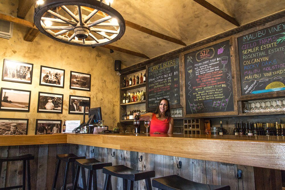 THE TASTING ROOM - You, Your Friends and Out of Town Guests will love the Rustic Charm of this Wine Tasting Bar. A Cozy Spot to hangout and SIP Award Winning Wines from Malibu Boutique Vintners. CLICK HERE for more information.RESERVATIONS Recommended for Parties of 6 or more.