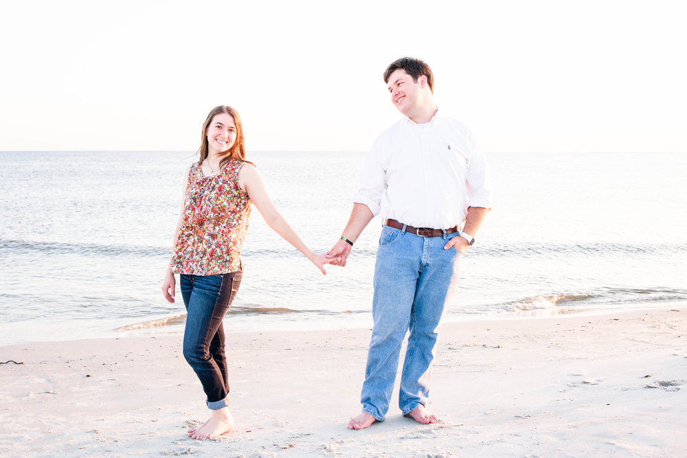 Mary & Adrian Dauphin Island Engagement Session