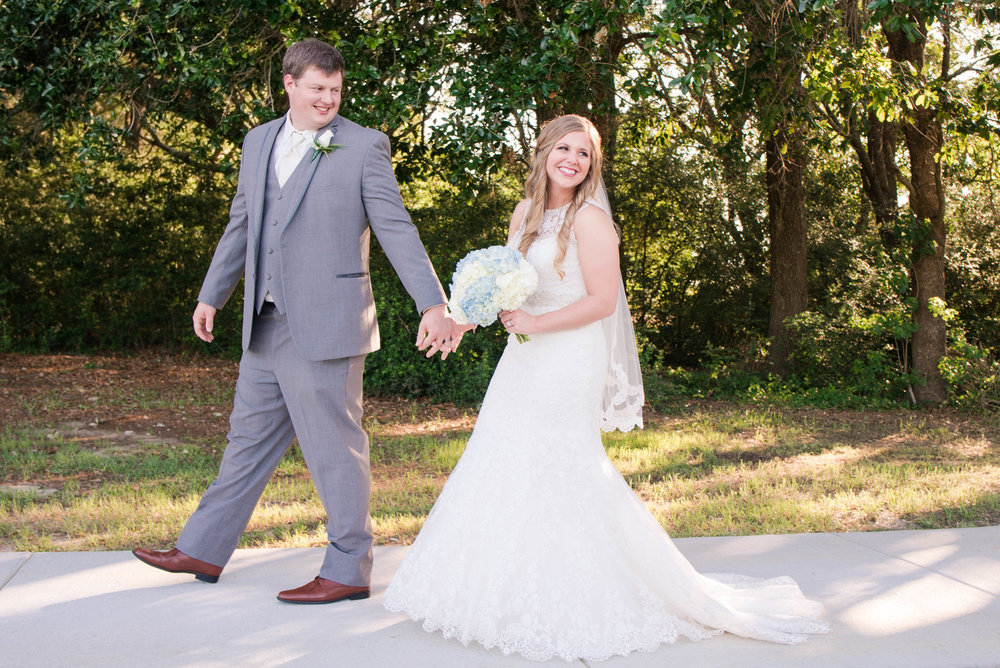 Tracy & Jonathan Mobile Alabama Wedding Five Rivers Delta