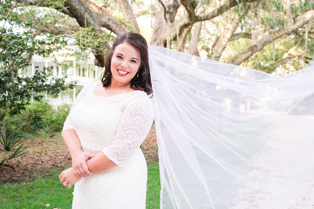 Kayla Bridals Swift Cole Historic Home Alabama Gulf Coast Weddings
