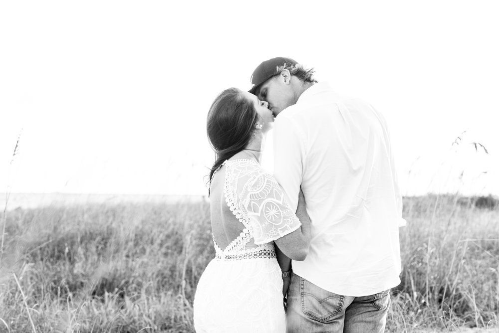 Ariel and Mark Dauphin Island Alabama Engagement Session