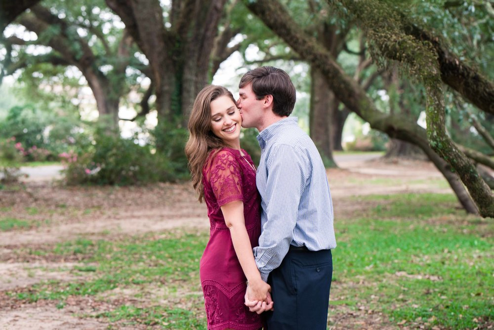 Christy & Tyler Springhill Mobile Alabama Engaged