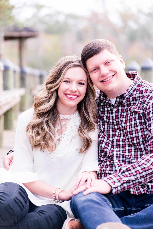 Tori & Trey Mobile Alabama Fall Engagement