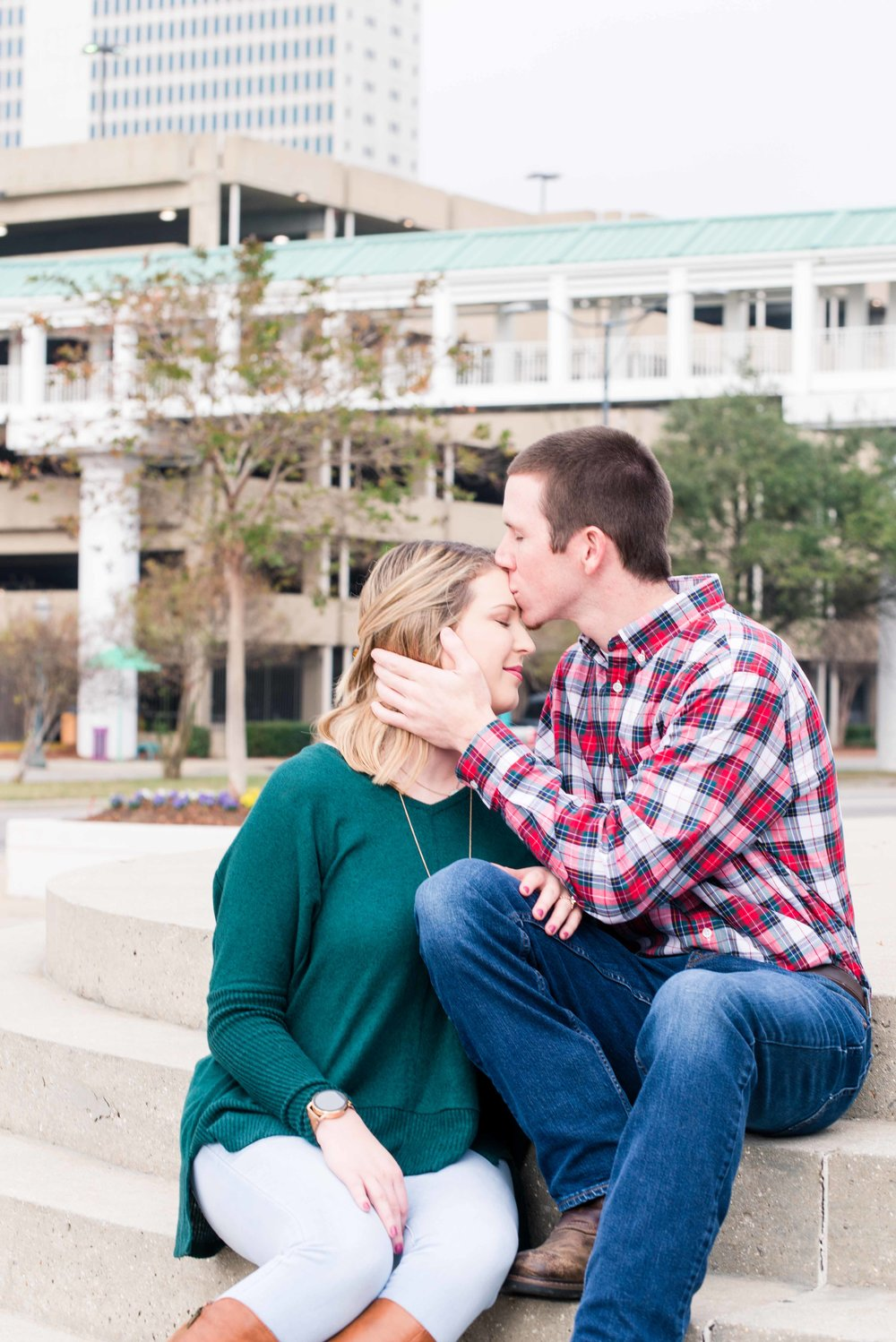 Lauren and Justin Mobile Alabama Fall Engagement