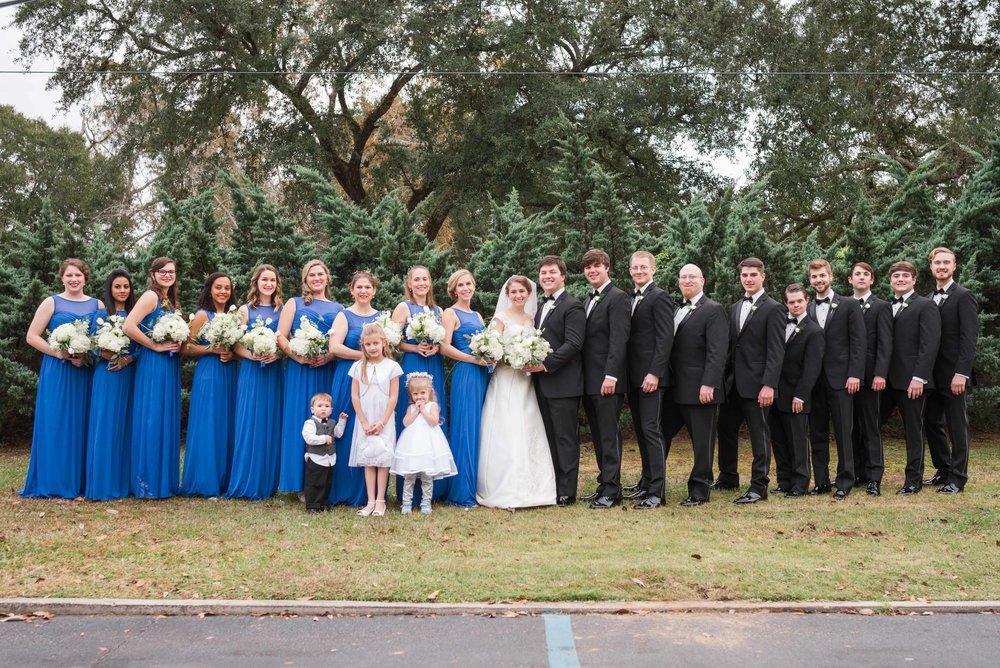 Eves Wedding Party Mobile Alabama December