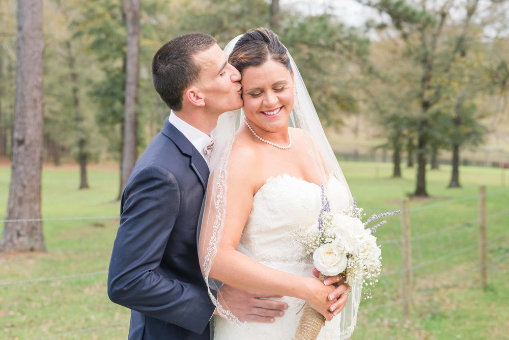 Cassie and Logan Mobile Alabama Watson Farms Wedding