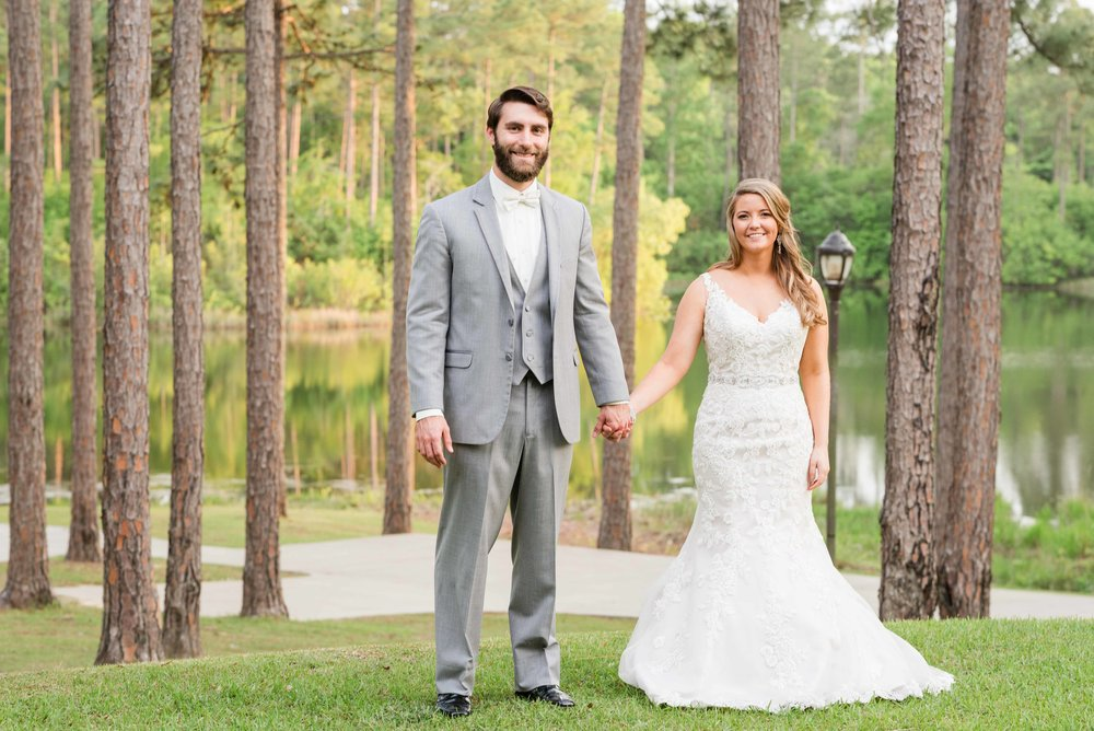 Reich April Alabama Wedding Citronelle Community Center