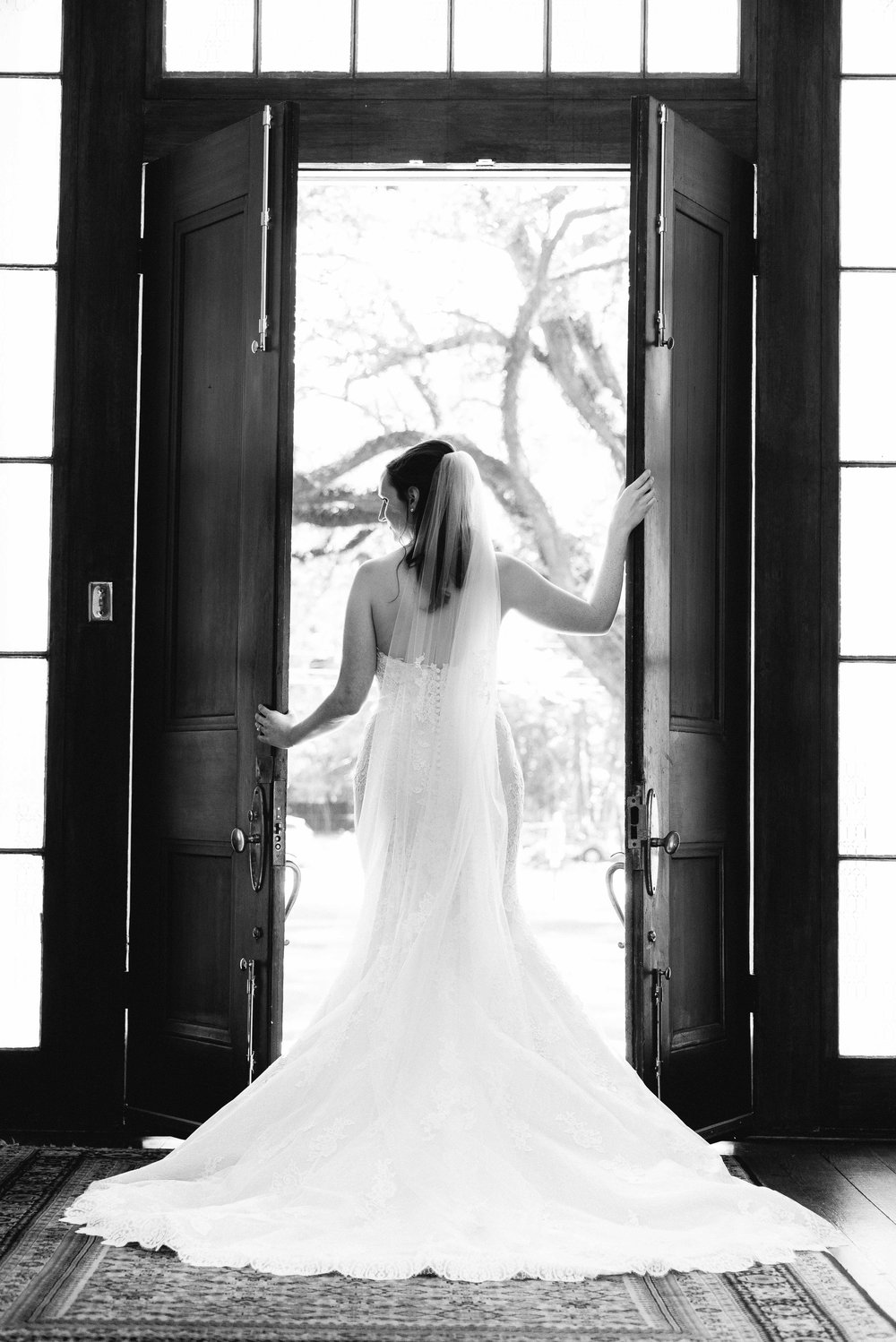Bragg-Mitchell Mansion Bridal Portraits Mobile Alabama Wedding Photographer