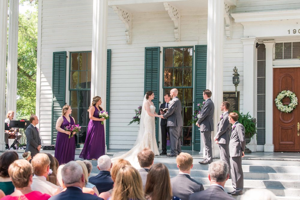 Bragg-Mitchell Mansion Mobile Alabama Wedding Haley & Howard