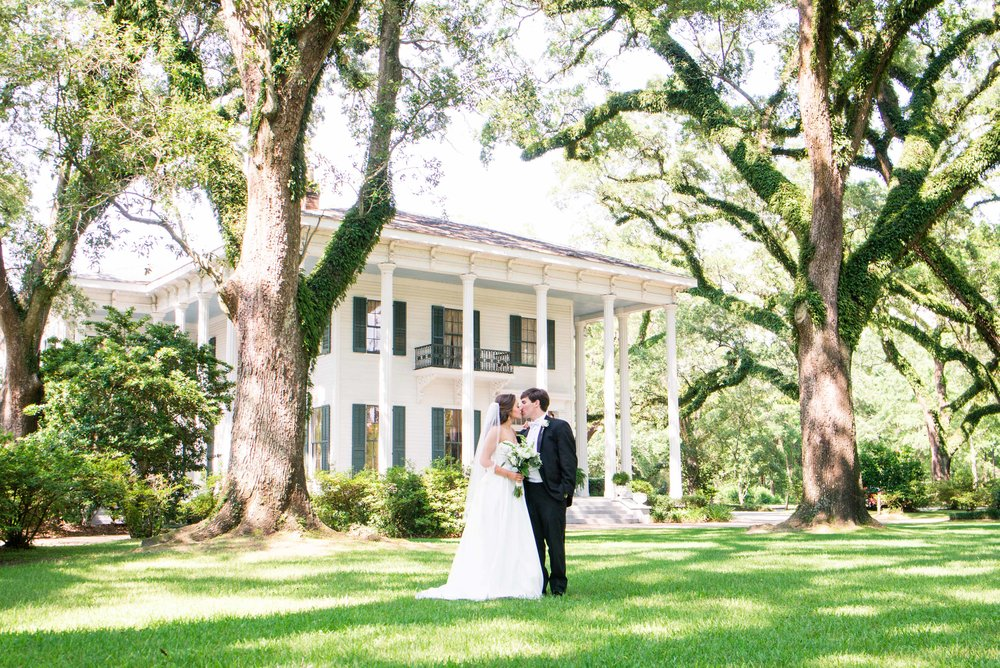 Bragg-Mitchell Mansion Mobile, Alabama Wedding Spring 2018 Christy & Tyler