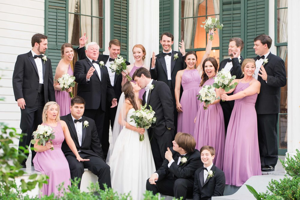 Christy and Tyler Bragg-Mitchell Mansion Mobile, Alabama May Wedding