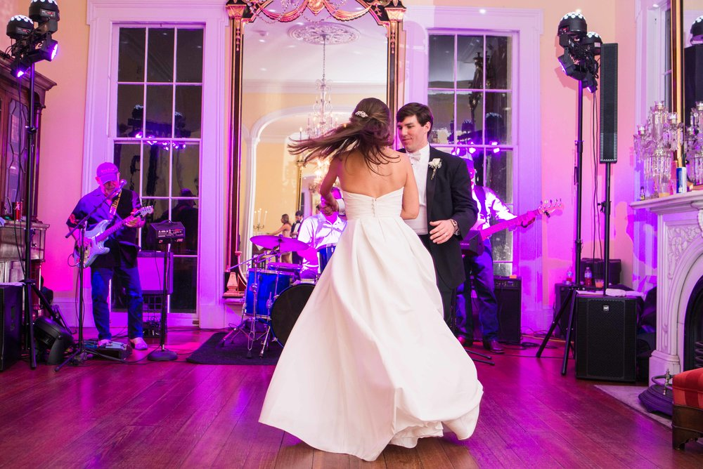 Bragg-Mitchell Mansion Mobile, Alabama Wedding
