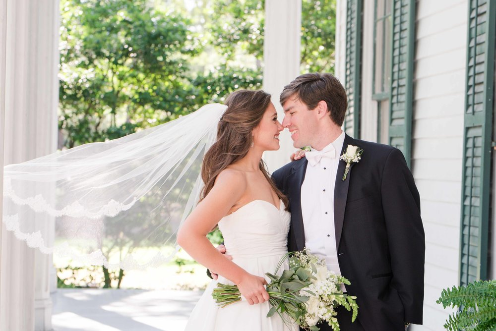 Bragg-Mitchell Mansion Mobile Alabama Wedding Deborah Michelle Photography